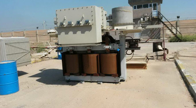 Rehabilitation the transformer of 8MVA 15/6.6 KV for Al-Quds Thermal Power Plant