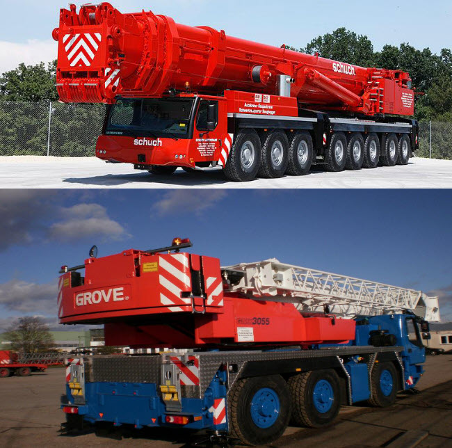 Leased a 300 ton crane to Baiji Gas Power Plant and Kirkuk Gas Power Plant to work with German Siemens